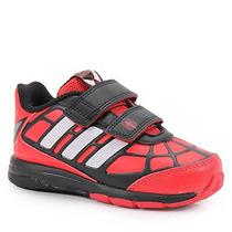 Tênis Adidas Homem-aranha Cf Inf Tam 18 Ao 25 - Vermelho