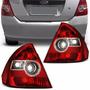 Lanterna Fiesta Sedan 03 04 05 06 07 2008 2009 2010 Bicolor