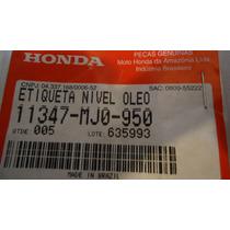 Etiqueta Nivel Oleo Cbx 750 Four