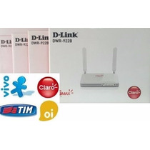 Modem Roteador Dwr 922b 3g 4g D-link Chip Antena Externa Nfe