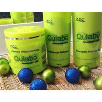 Kit Hidratação E Reconstrução De Quiabo- Cdc- 3 Passos