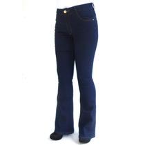 Calça Flare Cintura Média Biotipo 19669 Kalbatt Jeans