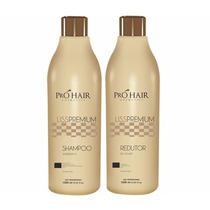 Kit Escova Progressiva Liss Premium Pro Hair 2 Passos 1000ml