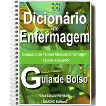 Dicionário Enfermagem Termos Médicos Técnicos - Frete 7,00