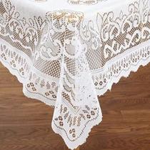 Mantel Rectangular 54 X72 Lace Tablecloth