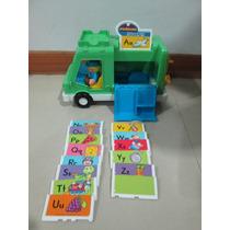 Camion Cartero Little People Fisher Price, Usado Como Nuevo