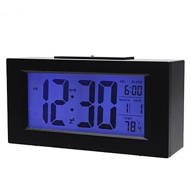 c062d85098c Relógio De Mesa Digital Com Dispertador Iluminado Preto 820 - R  59 ...