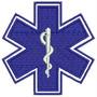 Patch Bordado Cruz Da Vida Emergência Socorrista Prf86