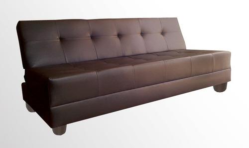 Sofa cama milan mueblemoda salas 3 en mercado - Sillones que se hacen cama ...