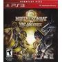 Juego De Play 3 --- Mortal Kombat Vs Dc Universe Greatest Hi