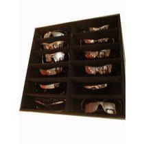 Bandeja Estojo Guardar 12 Óculos Closet Porta Organizador