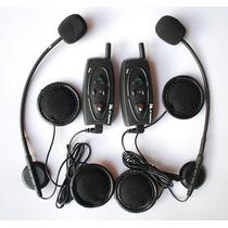 Intercomunicador Capacet Bluetooth Moto Ultima Versão