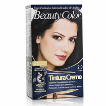 Tintura Beauty Color Kit Completo Bisnaga 45g -várias Cores