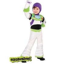 Disfraz Buzz Lightyear Talla 3/4 Años Entrega Inmediata