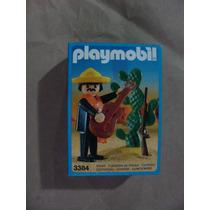 = Playmobil = Faroeste Mexicano Com Violão 3384 Antex