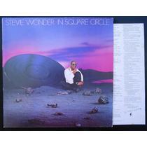Stevie Wonder In Square Circle Lp Vinil Capa Dupla + Encarte