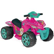 Quadriciclo Infantil 6v Elétrico Barbie Carro Menina Rosa