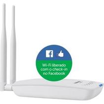 Roteador Wireless Intelbras Hotspot 300 - Check-in Facebook