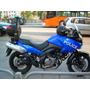 Luz Moto Policial Profesional Estrobo Klr650 Vstrom Susuki