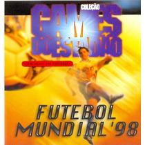 Game Pc Coleção Estadão Futebol Mundial 98