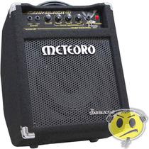 Cubo Amplificador De Baixo Meteoro Star Black 8 Promoção