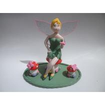 Topo De Bolo Sininho / Tinker Bell Biscuit Apenas R$50,00