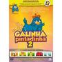 A Galinha Pintadinha 2 Dvd Infantil Musicas Original Novo