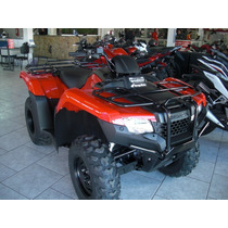 Honda Quadriciclo Trx 420 Fm 4x4 Fourtrax Zero A Fat 2016