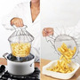 Canasto Metalico Flexible Multi Proposito Para Cocinar