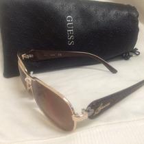 Óculos Feminino Guess Dourado/ Importado De Usa
