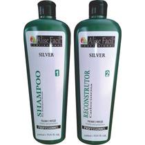 Kit Progressiva Alise Facil Silver S Formol Carbocisteina 1