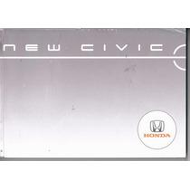 Manual Proprietário Honda New Civic 2006 Original