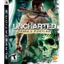 Uncharted 1 Usa Ps3 Jogo Lacrado, Todo Em Portugues