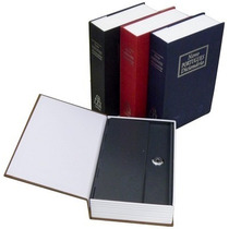 Cofre - G R A N D E - Camuflado Livro 2chaves Porta Joias