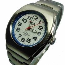 Relógio Masculino Aço Inox Fila Triton Design Italiano