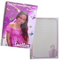 Caderno De Mensagem Personalizado 15 X 21