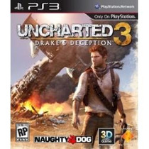 Jogo Novo Uncharted 3 Midia Fisica Português Ps3 Playstation