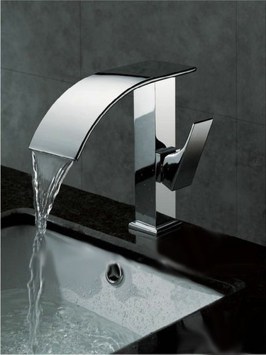 Torneira Para Banheiro Monocomando Cascata  Frete Grátis  R$ 559,90 em Merc -> Cuba Banheiro Frete Gratis