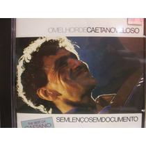 Cd - Caetano Veloso - Sem Lenço Sem Documento