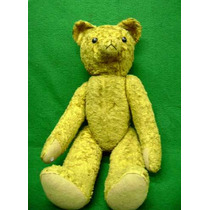 Urso Amarelo Teddy Bears Antigo
