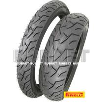 Par Pneus Esportivos Mais Largos Pirelli P/ Honda Biz E Pop