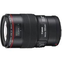 Lente Canon 100mm F/2.8l Ef Macro Usm Is (canon Série L)