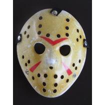 Máscara Jason - Filme Sexta Feira 13 Envelhecida - Envio 24h