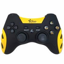 Controle Ps3 Sem Fio Dualshock Playstation 3 - Amarelo
