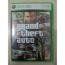 Grand Theft Auto Iv Gta 4 Completo - Original Xbox 360 Ntsc