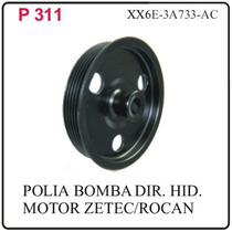 P311 Polia Da Bomba Direcao Hidr.ka Fiesta Motor Zetec Roca