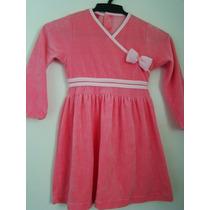 Puket - Pijama De Plush Rosa. Temos Lilica. Tamanho 04.