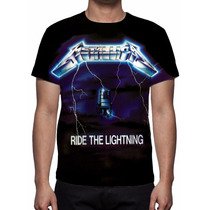 Camisa, Camiseta Metallica - Ride The Lightning