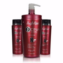 Agi Max Dna System Kit Escova Inteligente Sem Formol