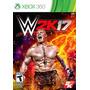 Wwe 2k17 W2k17 Fisico Nuevo Xbox 360 Dakmor